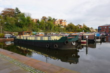 Worcester, Narrowboats moored in Diglis Basin, Worcestershire © Bill Boaden
